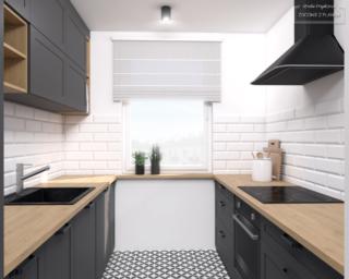 kuchnia mieszkanie dla dwojga